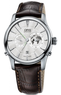 Oris Greenwich Mean Time Limited Edition Mens watch, model number - 0169076904081-0752270FC, discount price of £1,865.00 from The Watch Source