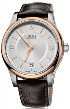 Oris Classic Date Midsize watch, model number - 0173375784331-0751810, discount price of £590.00 from The Watch Source