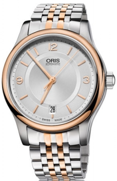 Oris Classic Date Midsize watch, model number - 0173375784331-0781863, discount price of £645.00 from The Watch Source