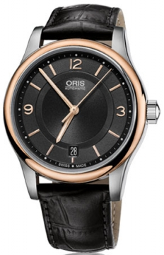 Oris Classic Date Midsize watch, model number - 0173375784334-0751811, discount price of £590.00 from The Watch Source
