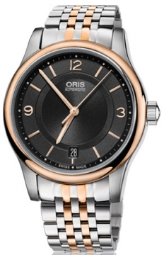Oris Classic Date Midsize watch, model number - 0173375784334-0781863, discount price of £645.00 from The Watch Source