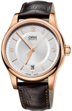 Oris Classic Date Midsize watch, model number - 0173375784831-0761810, discount price of £645.00 from The Watch Source