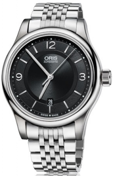 Oris Classic Date Mens watch, model number - 0173375944034-0782061, discount price of £595.00 from The Watch Source