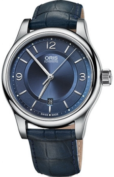 Oris Classic Date Mens watch, model number - 0173375944035-0752085, discount price of £540.00 from The Watch Source