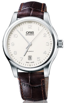 Oris Classic Date Mens watch, model number - 0173375944091-0752011, discount price of £530.00 from The Watch Source