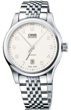 Oris Classic Date Mens watch, model number - 0173375944091-0782061, discount price of £590.00 from The Watch Source