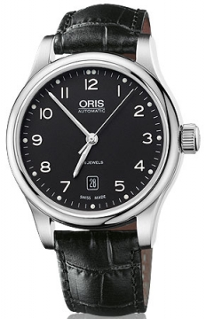 Oris Classic Date Mens watch, model number - 0173375944094-0752011, discount price of £530.00 from The Watch Source