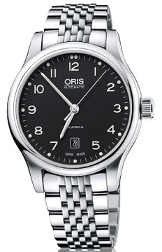 Oris Classic Date Mens watch, model number - 0173375944094-0782061, discount price of £590.00 from The Watch Source