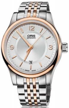 Oris Classic Date Mens watch, model number - 0173375944331-0782063, discount price of £645.00 from The Watch Source