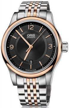 Oris Classic Date Mens watch, model number - 0173375944334-0782063, discount price of £645.00 from The Watch Source