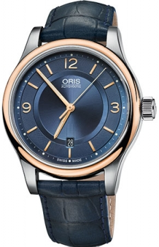 Oris Classic Date Mens watch, model number - 0173375944335-0752085, discount price of £590.00 from The Watch Source