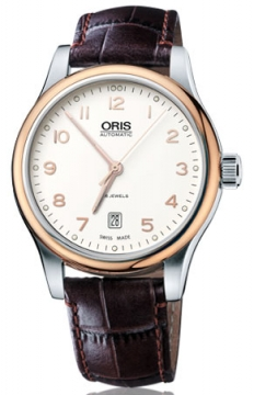 Oris Classic Date Mens watch, model number - 0173375944391-0752012, discount price of £555.00 from The Watch Source