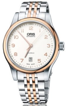 Oris Classic Date Mens watch, model number - 0173375944391-0782063, discount price of £615.00 from The Watch Source