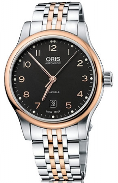 Oris Classic Date Mens watch, model number - 0173375944394-0782063, discount price of £615.00 from The Watch Source