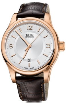 Oris Classic Date Mens watch, model number - 0173375944831-0762012, discount price of £645.00 from The Watch Source