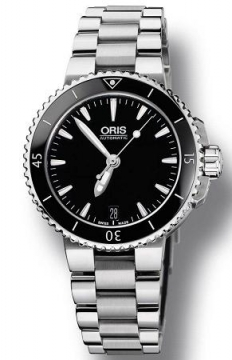 Oris Aquis Date 43mm Midsize watch, model number - 0173376524154-0781801P, discount price of £955.00 from The Watch Source