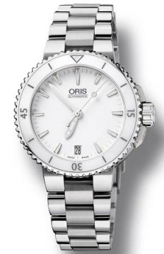 Oris Aquis Date 43mm Midsize watch, model number - 0173376524156-0781801P, discount price of £875.00 from The Watch Source