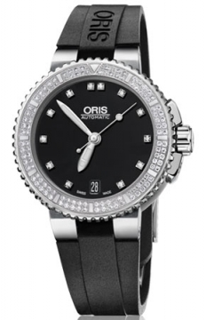 Oris Aquis Date Diamonds 36mm Midsize watch, model number - 0173376524994-0741834, discount price of £2,295.00 from The Watch Source