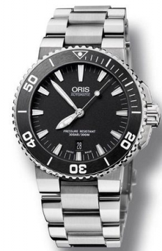Oris Aquis Date 43mm Mens watch, model number - 0173376534154-0782601PEB, discount price of £936.00 from The Watch Source