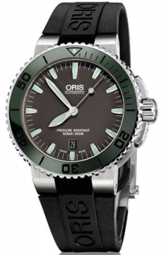 Oris Aquis Date 43mm Mens watch, model number - 0173376534157-0742634EB, discount price of £900.00 from The Watch Source