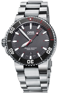 Oris Aquis Red Limited Edition Mens watch, model number - 0173376534183-Set MB, discount price of £1,080.00 from The Watch Source