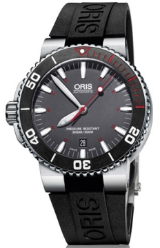 Oris Aquis Red Limited Edition Mens watch, model number - 0173376534183-Set RS, discount price of £1,025.00 from The Watch Source