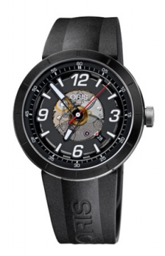 Oris TT1 Skeleton Engine Date Mens watch, model number - 0173376684114-0742506, discount price of £860.00 from The Watch Source