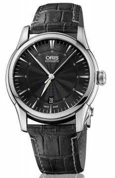 Oris Artelier Date 40mm Mens watch, model number - 0173376704054-0752171FC, discount price of £720.00 from The Watch Source