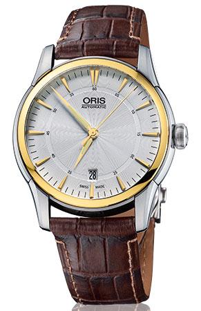 Buy this new Oris Artelier Date 40mm 0173376704351-0752170FC mens ... c8287509e8a