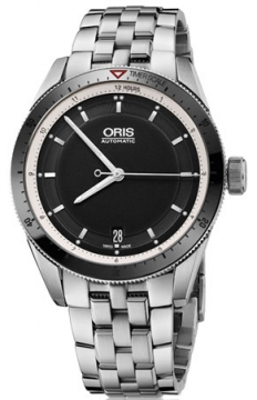 Oris Artix GT Date 37mm Midsize watch, model number - 0173376714154-0781885, discount price of £1,025.00 from The Watch Source