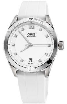 Oris Artix GT Date, Diamonds 37mm Midsize watch, model number - 0173376714191-0741830FC, discount price of £1,105.00 from The Watch Source