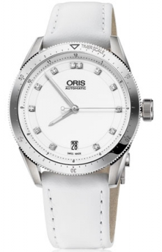 Oris Artix GT Date, Diamonds 37mm Midsize watch, model number - 0173376714191-0751840FC, discount price of £1,105.00 from The Watch Source