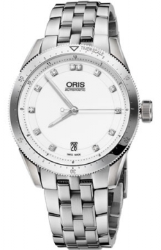 Oris Artix GT Date, Diamonds 37mm Midsize watch, model number - 0173376714191-0781885, discount price of £1,160.00 from The Watch Source