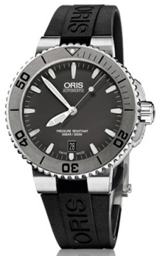 Oris Aquis Date 43mm Mens watch, model number - 0173376764153-0742134, discount price of £940.00 from The Watch Source