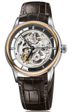 Oris Artelier Translucent Skeleton Mens watch, model number - 0173476846351-0752170FC, discount price of £2,255.00 from The Watch Source