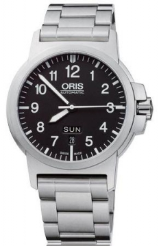 Oris BC3 Advanced, Day Date 42mm Mens watch, model number - 0173576414164-0782203, discount price of £795.00 from The Watch Source