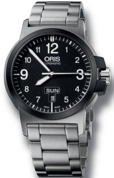 Oris BC3 Advanced, Day Date 42mm Mens watch, model number - 0173576414364-0782203, discount price of £795.00 from The Watch Source