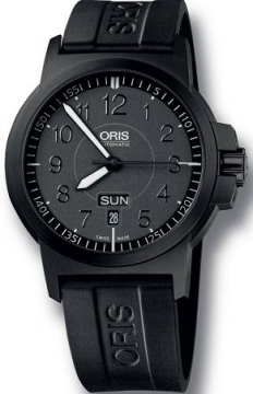 Oris BC3 Advanced, Day Date 42mm Mens watch, model number - 0173576414764-0742205B, discount price of £735.00 from The Watch Source
