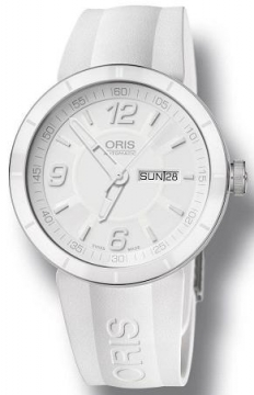 Oris TT1 Day Date 43mm Mens watch, model number - 0173576514166-0742507, discount price of £785.00 from The Watch Source