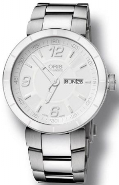 Oris TT1 Day Date 43mm Mens watch, model number - 0173576514166-0782510, discount price of £840.00 from The Watch Source