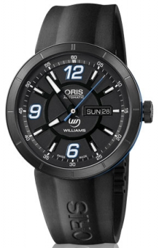 Oris TT1 Williams F1 Team Day Date Mens watch, model number - 0173576514765-0742506B, discount price of £885.00 from The Watch Source