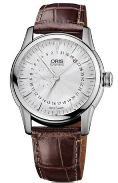 Oris Artelier Small Second, Pointer Date Mens watch, model number - 0174476654051-0752270FC, discount price of £1,025.00 from The Watch Source