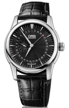 Oris Artelier Small Second, Pointer Date Mens watch, model number - 0174476654054-0752271FC, discount price of £1,025.00 from The Watch Source