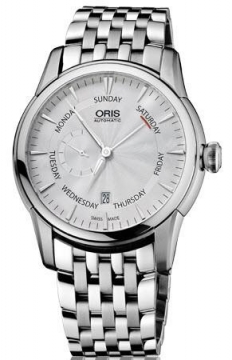 Oris Artelier Small Second, Pointer Day Mens watch, model number - 0174576664051-0782377, discount price of £1,120.00 from The Watch Source
