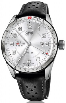 Oris Artix GT GMT 44mm Mens watch, model number - 0174777014461-0752287FC, discount price of £1,295.00 from The Watch Source