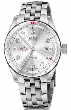 Oris Artix GT GMT 44mm Mens watch, model number - 0174777014461-0782285, discount price of £1,350.00 from The Watch Source