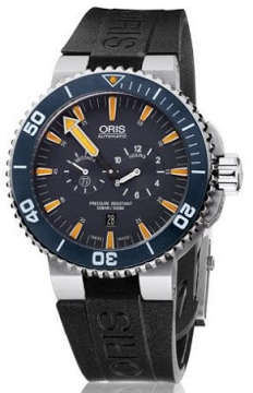 Oris Tubbataha Limited Edition Mens watch, model number - 0174976637185-Set RS, discount price of £1,300.00 from The Watch Source