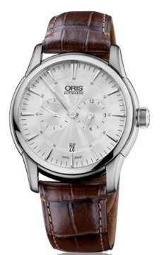 Oris Artelier Regulateur Mens watch, model number - 0174976674051-0752170FC, discount price of £1,130.00 from The Watch Source