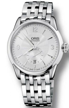 Oris Artelier Regulateur Mens watch, model number - 0174976674051-0782177, discount price of £1,185.00 from The Watch Source