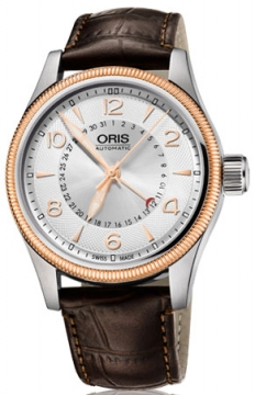 Oris Big Crown Pointer Date 40mm Mens watch, model number - 0175476794361-0752077FC, discount price of £725.00 from The Watch Source